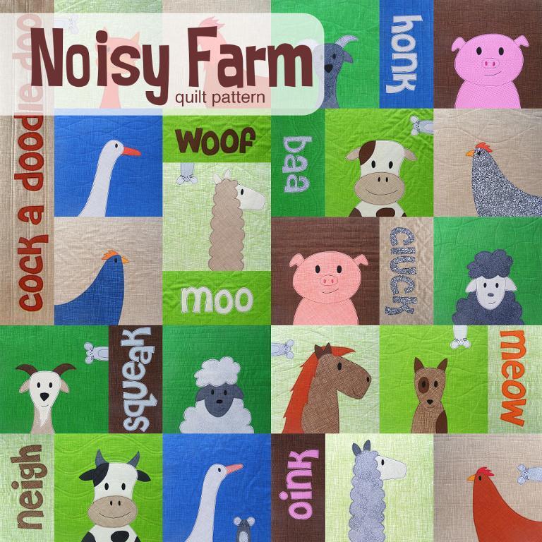 Noisy Farm Quilt Pattern