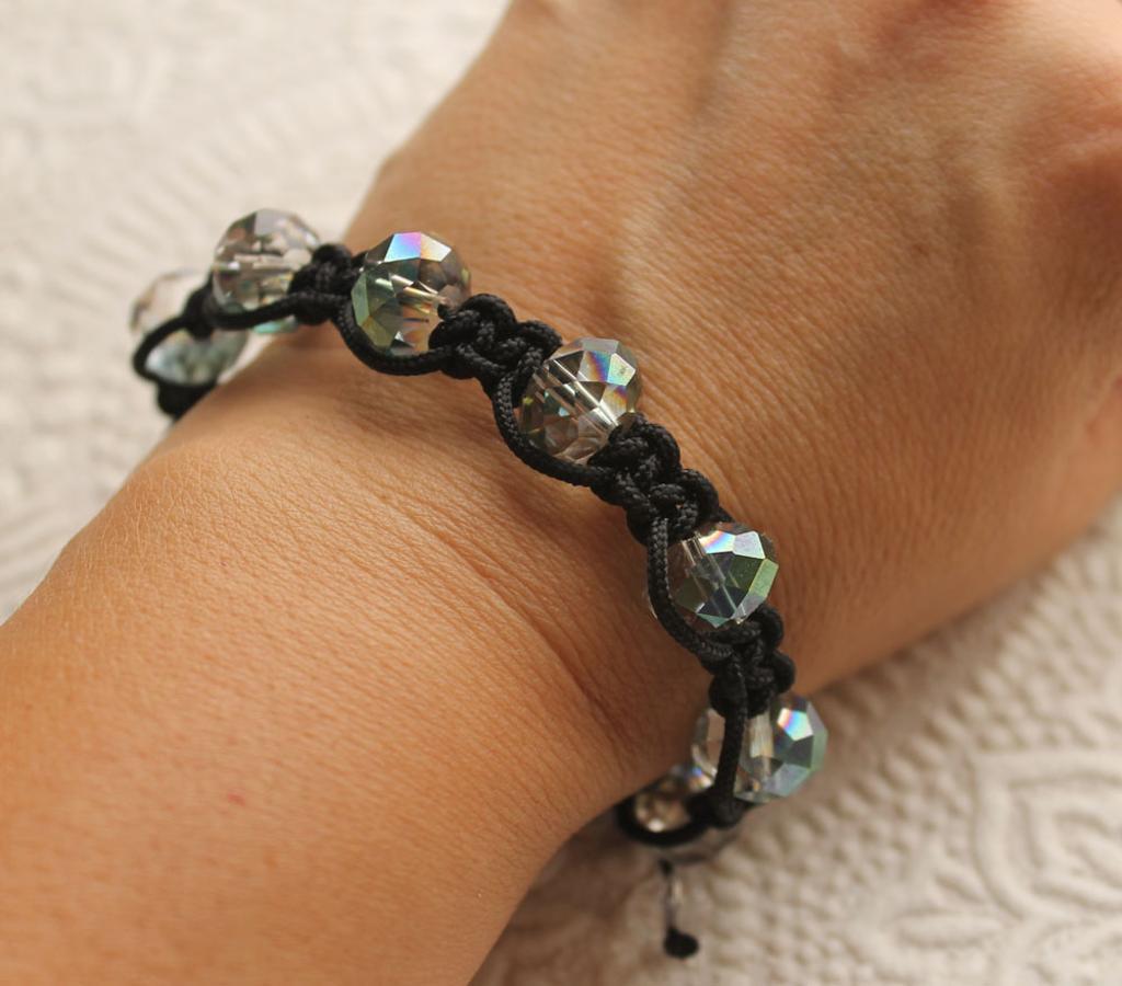Shamballa Bracelet macrame pattern