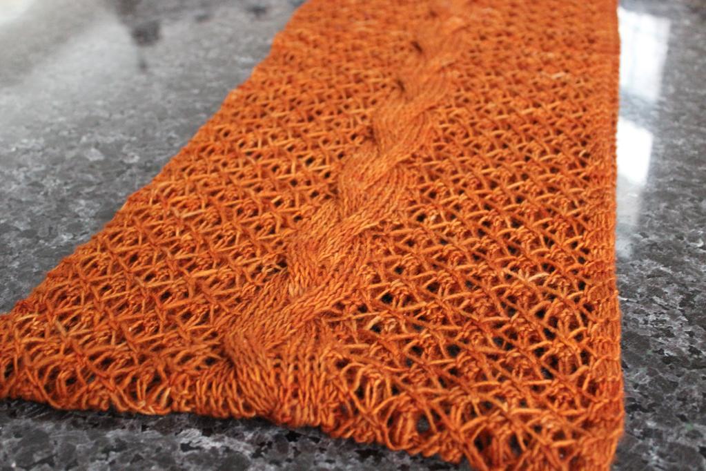 Rapunzel Infinity Scarf knitting pattern