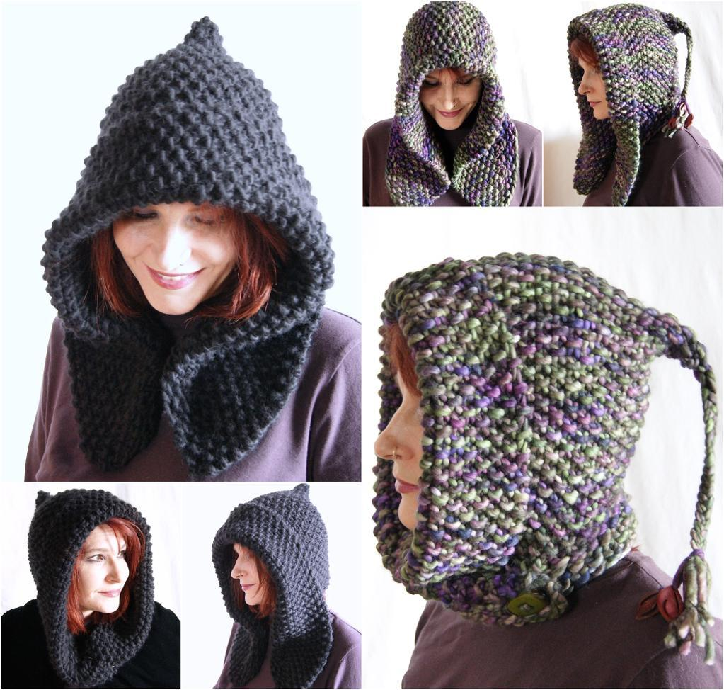 Bosky Hood Shaped with German Short Rows