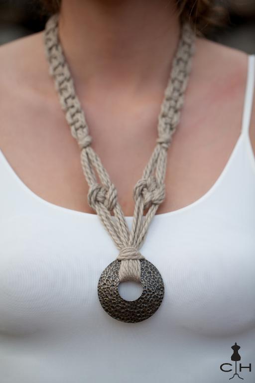 Morea Macrame Necklace
