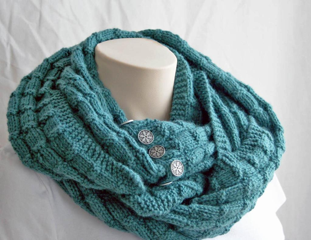 Spruce Cowl free knitting pattern