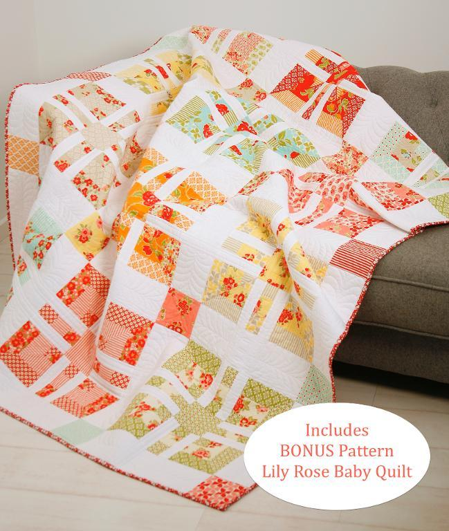 Candy Rose quilt pattern