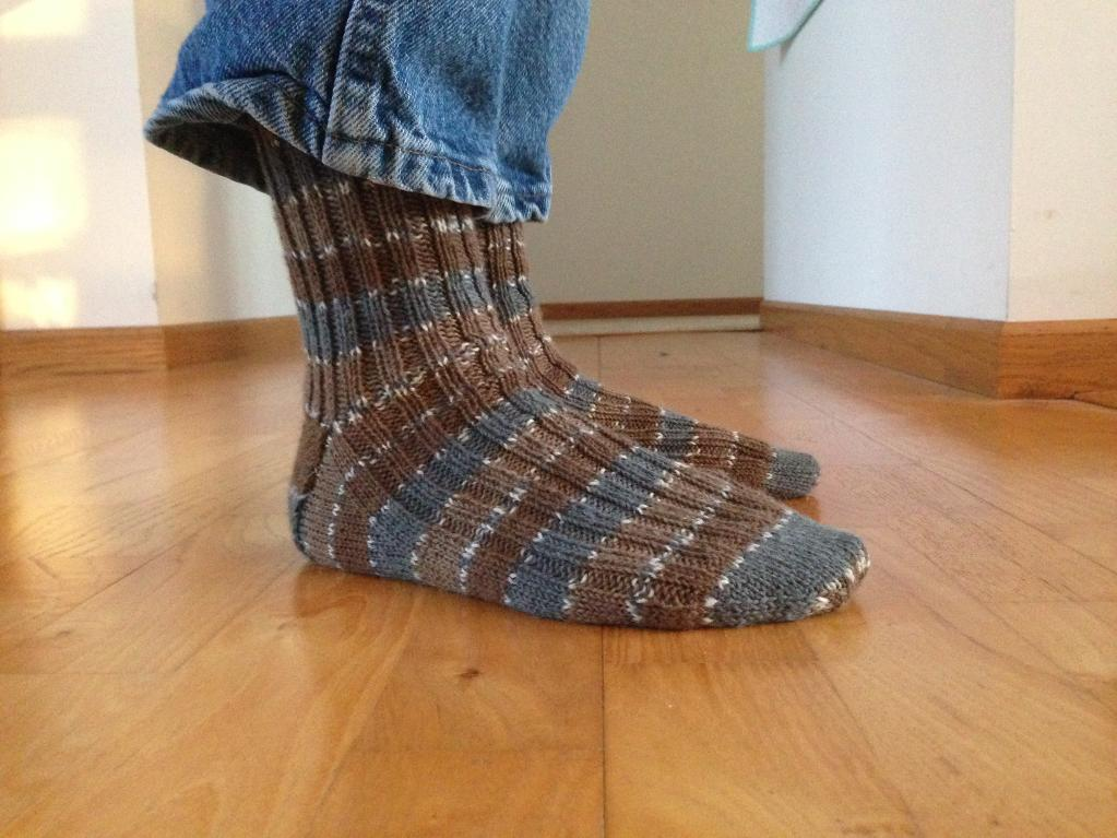 Amanda's Basic Sock Pattern knitting