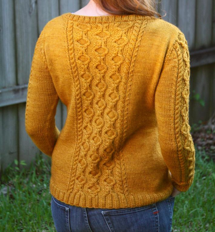 Tullamore Cardigan knitting pattern