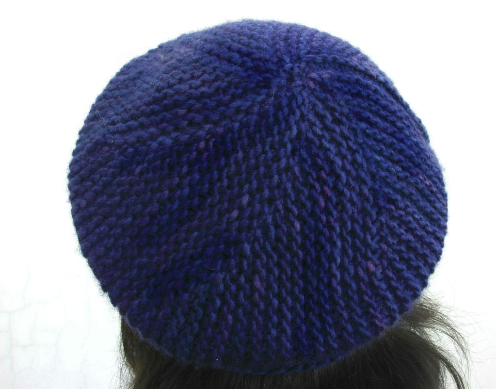 Turning Points Slouchy Beret knitting pattern