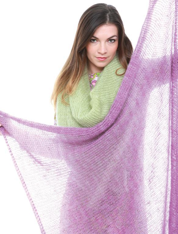 Mary Gale's Square Shawl free knitting pattern