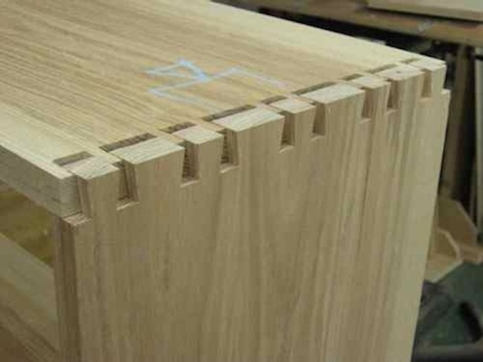machined dovetails