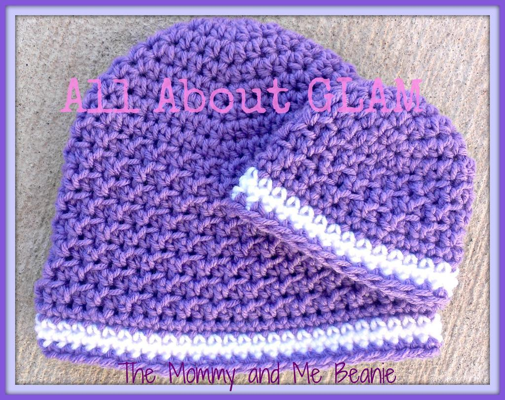mommy and me crochet hats