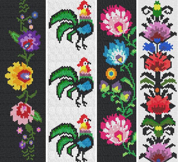 polish folk peyote patterns