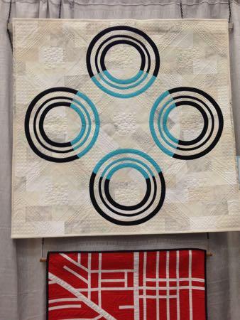 Target Practice quilt by Christine Perrigo