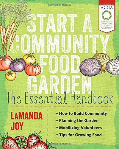 start a community food garden book cover
