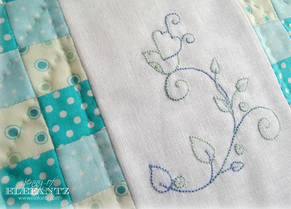 BIRDSONG stitchery and miniquilt