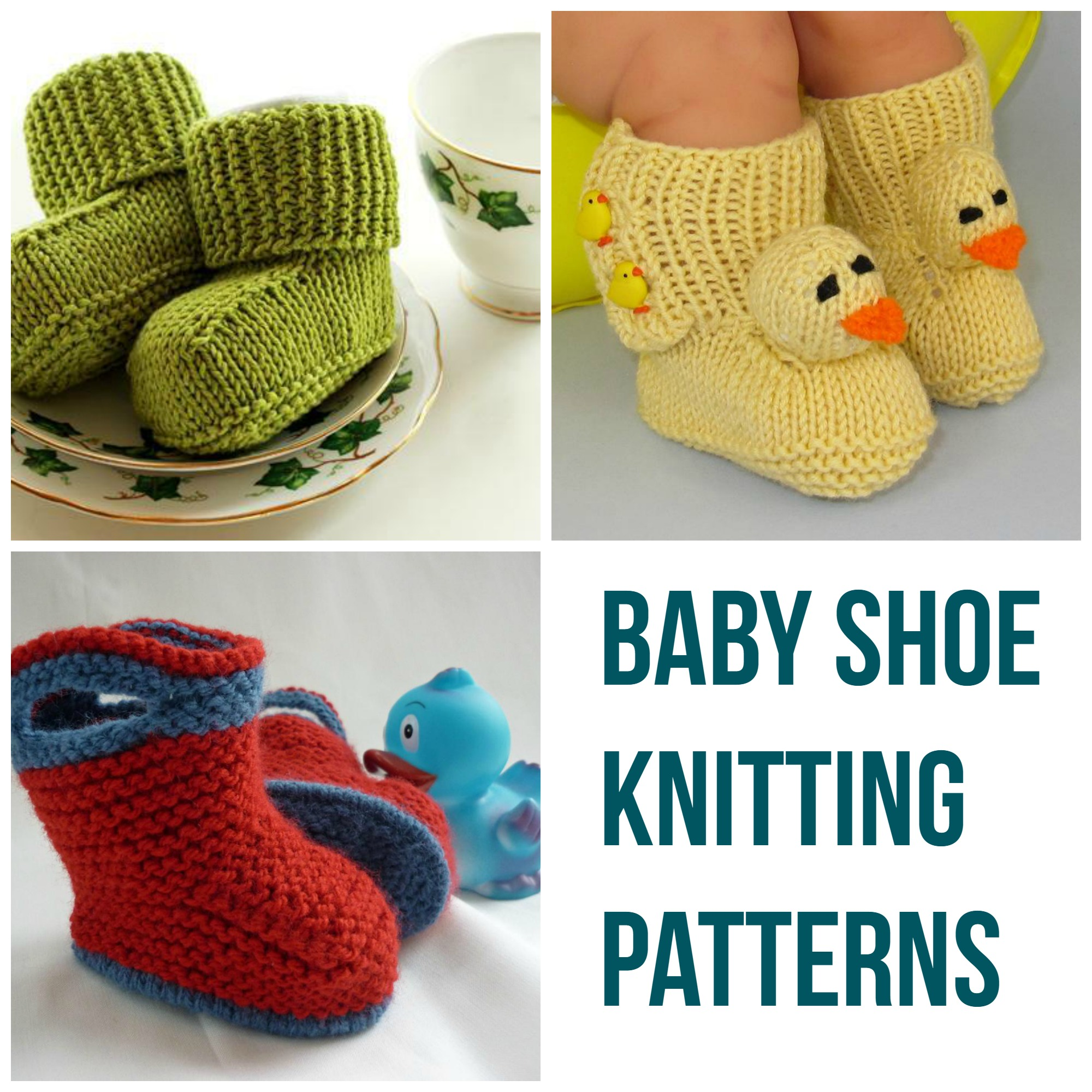 Baby Shoe Knitting Patterns