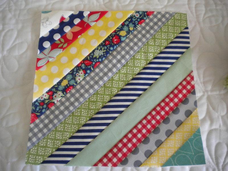 String Quilt Block tutorial