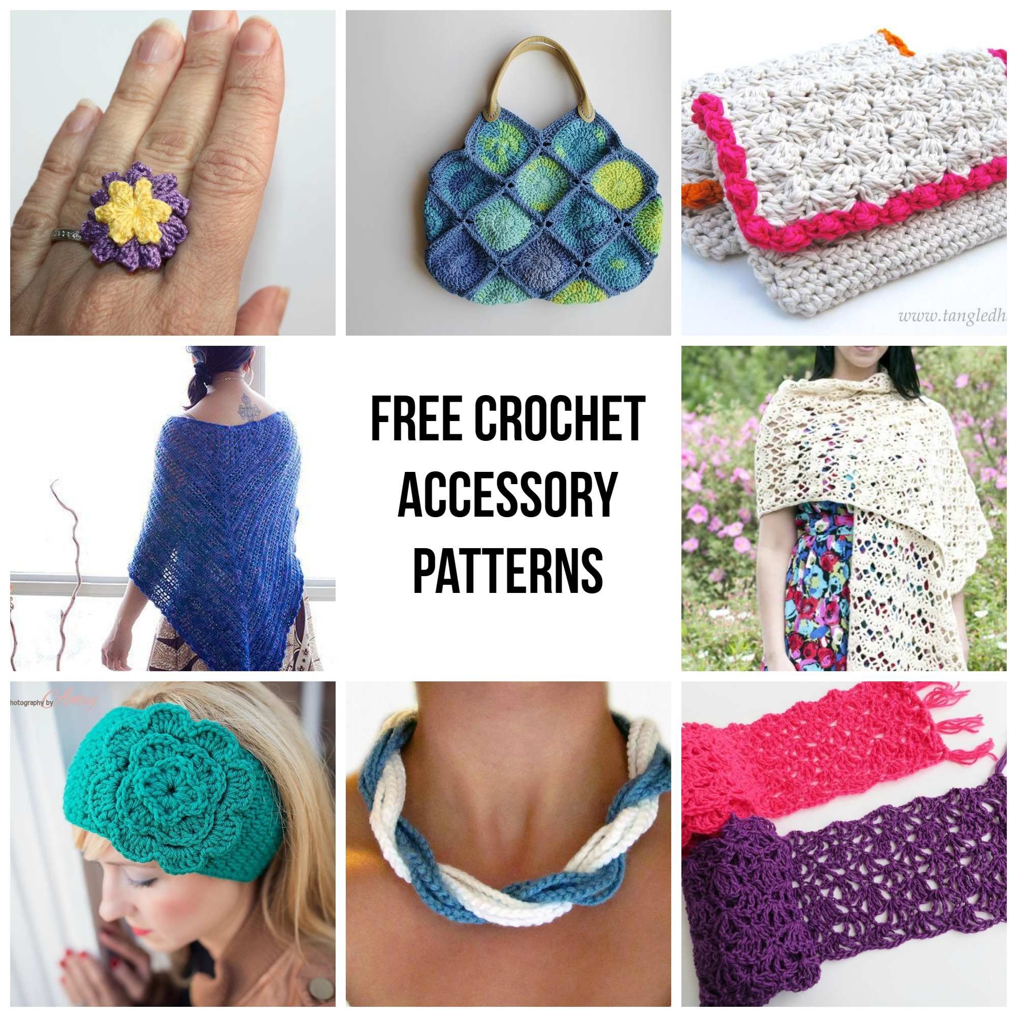 Free Crochet Accessory Patterns