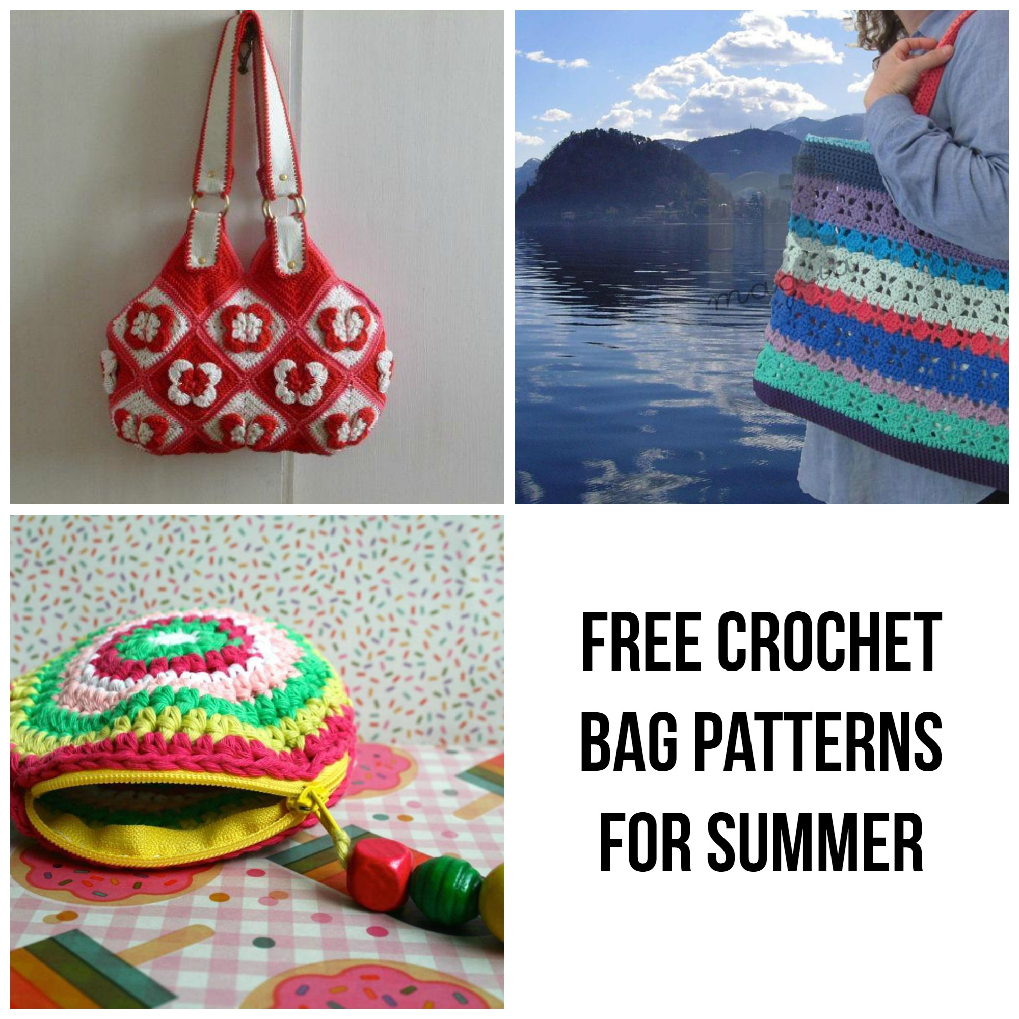 Free Crochet Bag Patterns for Summer