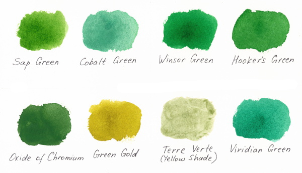 3 Ways Of Painting Shades Of Green Watercolor,What Does Blue Color Blindness Look Like