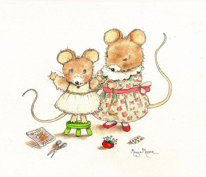Mouse seamstress