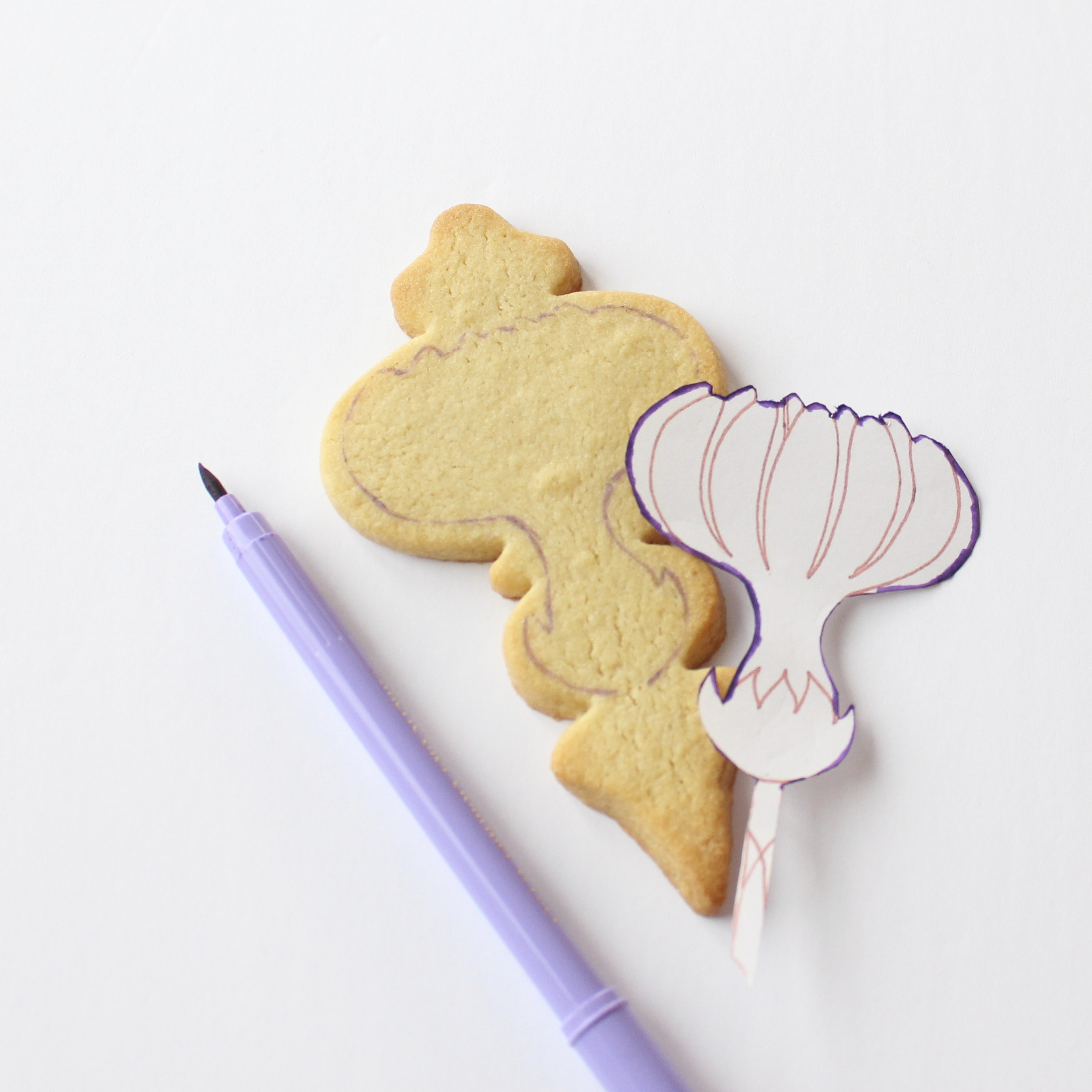 traced cookie