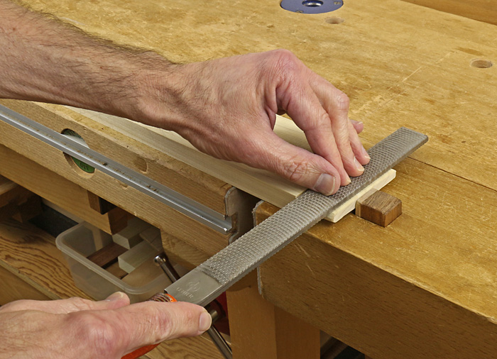 trim tenon with float