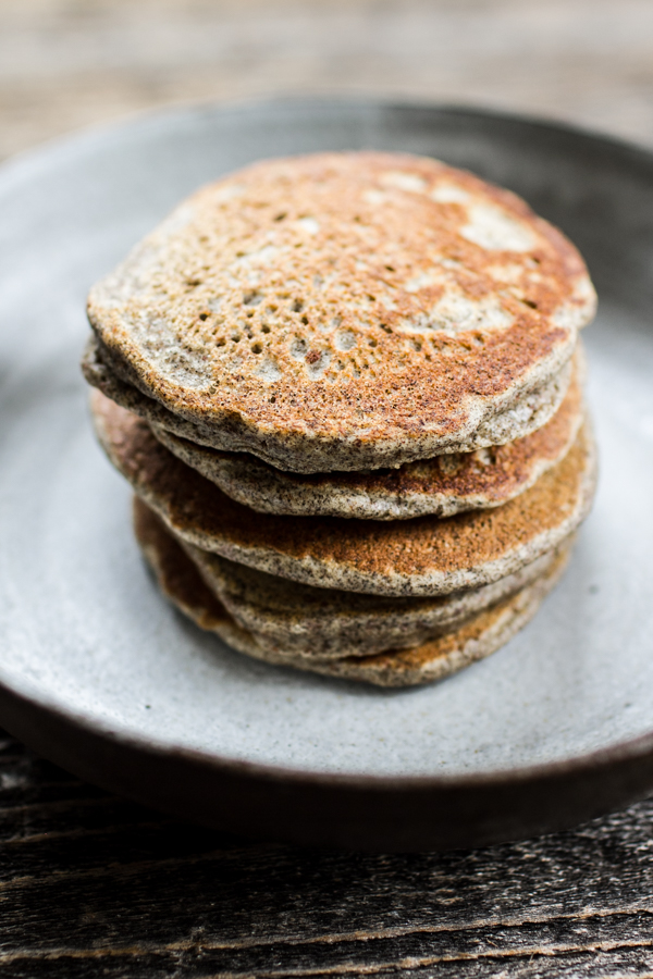 Gluten-Free Buckwheat Flour Pancakes