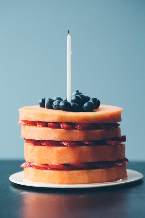 Fresh Fruit Cake