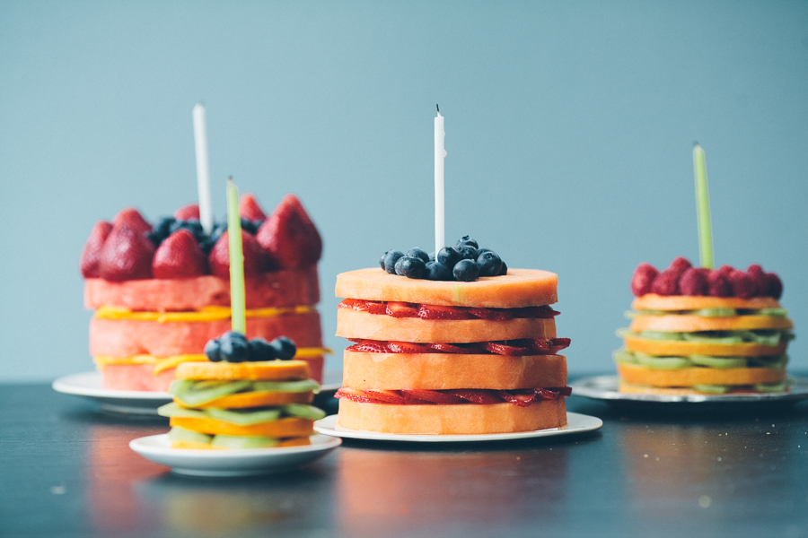 fresh fruit cakes