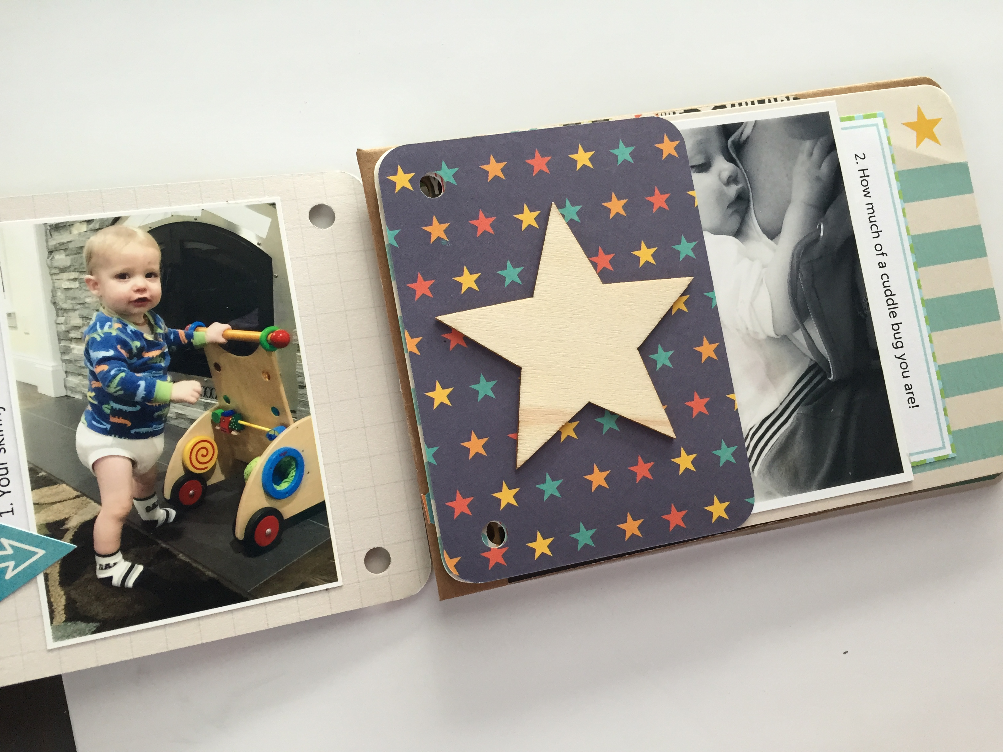 Pocket Scrapbooking Mini Album Photos