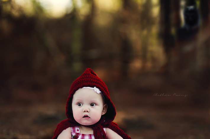 Little Red Riding Hood Themed Portrait