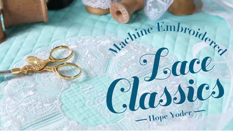 Machine Embroidered Lace Classics