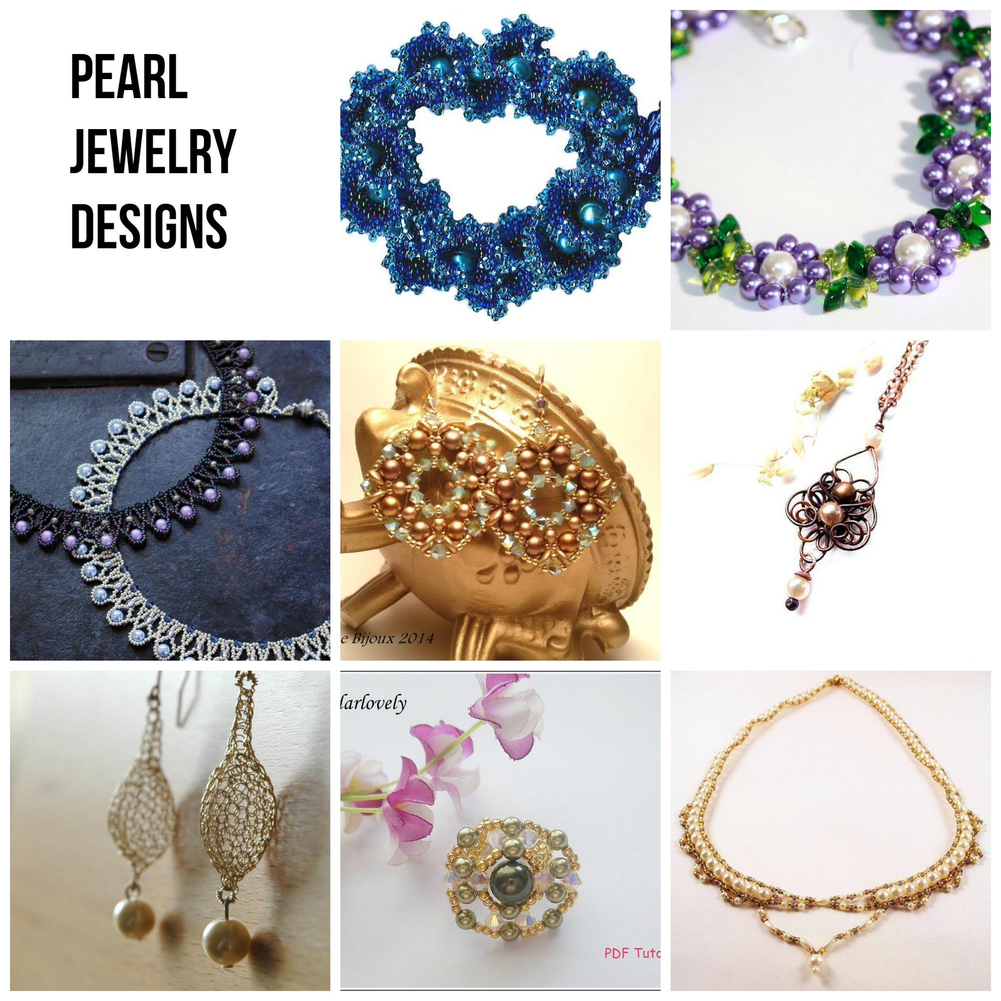 Pearl Jewelry Designs