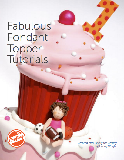 Fabulous Fondant Topper Tutorials - Free PDF guide on Bluprint.com