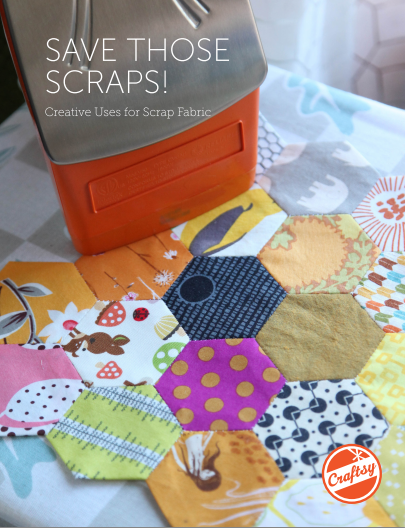 Save Those Scraps! Free PDF scrap quilting guide from Bluprint