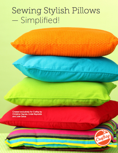 Sewing Stylish Pillows - Simplified: FREE PDF guide on Bluprint.com
