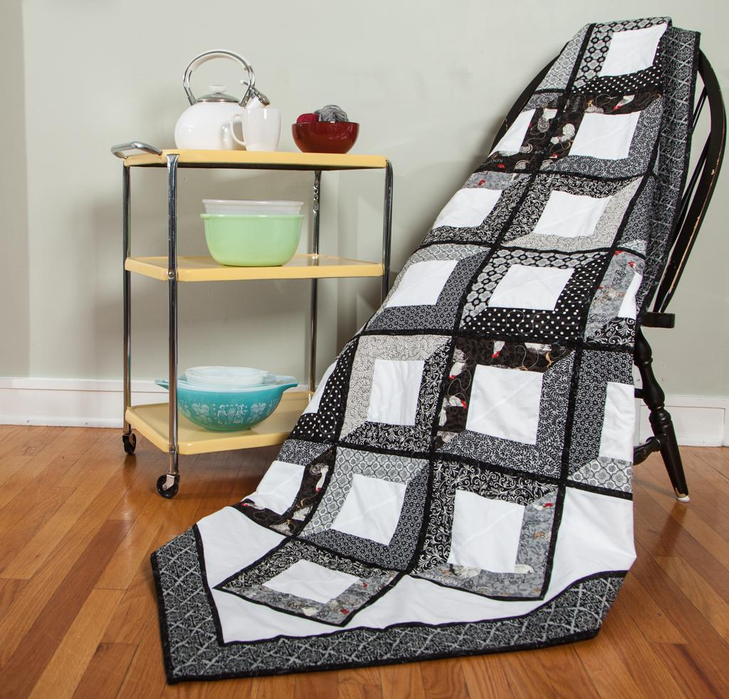 Shades of Grey Quilt