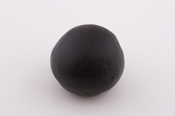 Black modeling chocolate