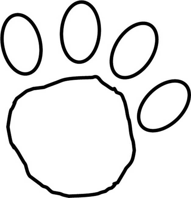 Paw template