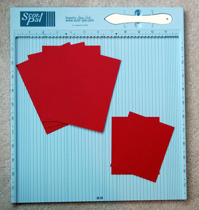 Step-1-Cut card stock pieces