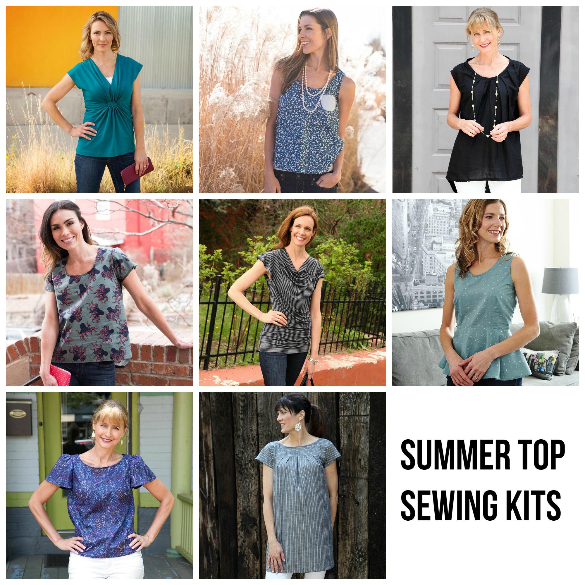 Summer Top Sewing Kits