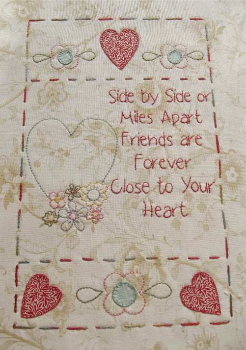 The Friendship Quilt Block 2