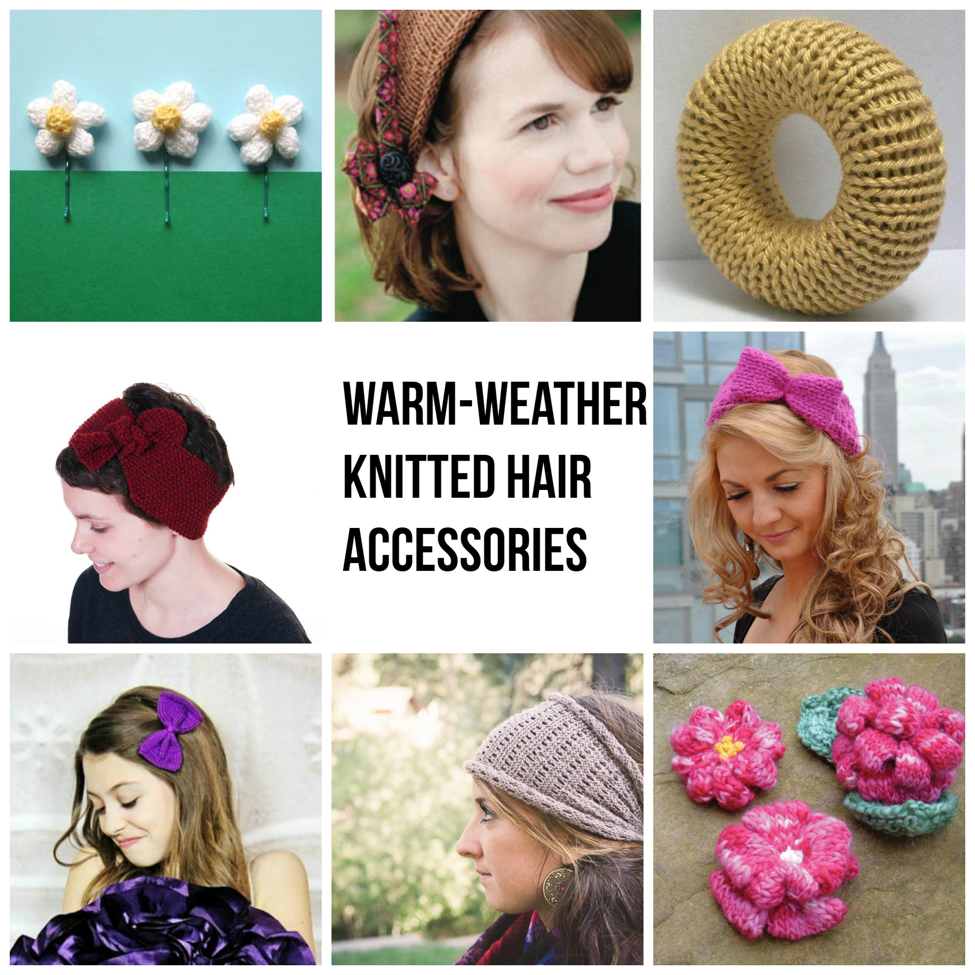 Warm-Weather Hair Accessories