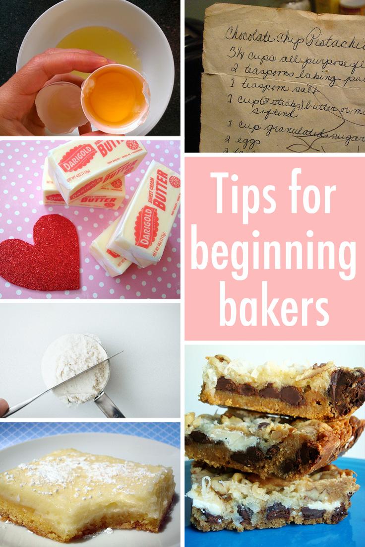 Tips for beginning bakers