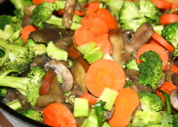 Veggies all combined
