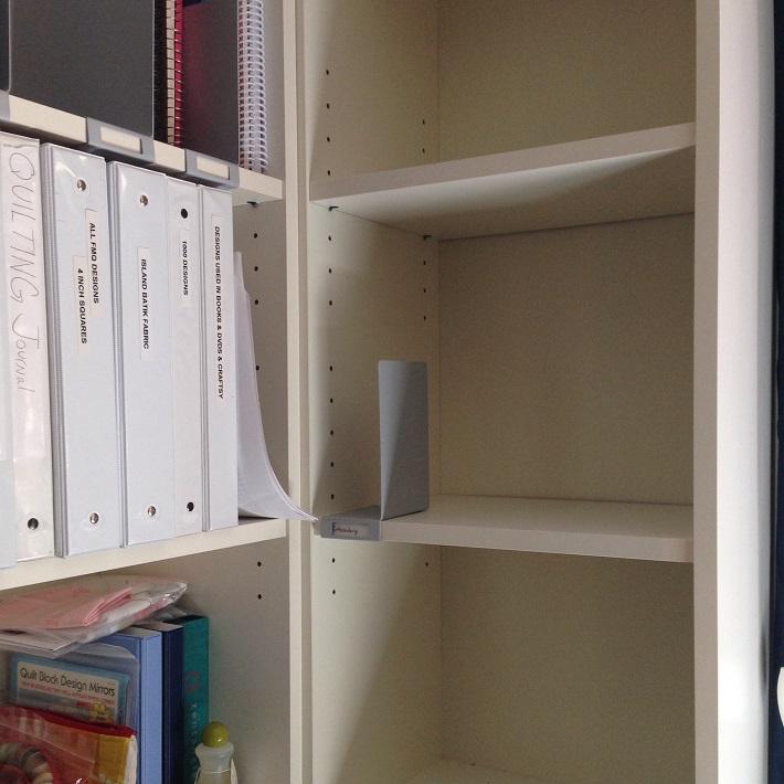 craft book shelves