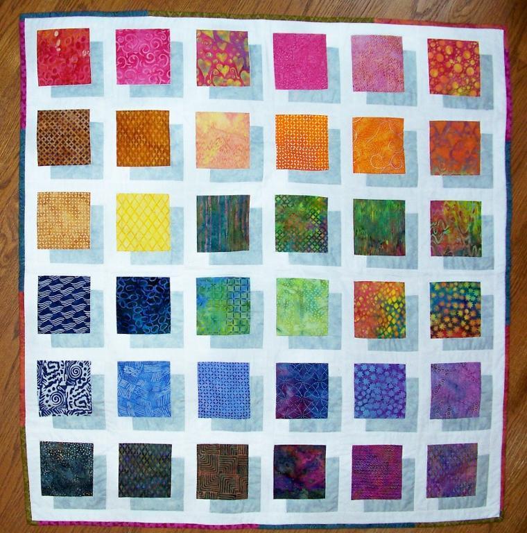 block quilt pattern