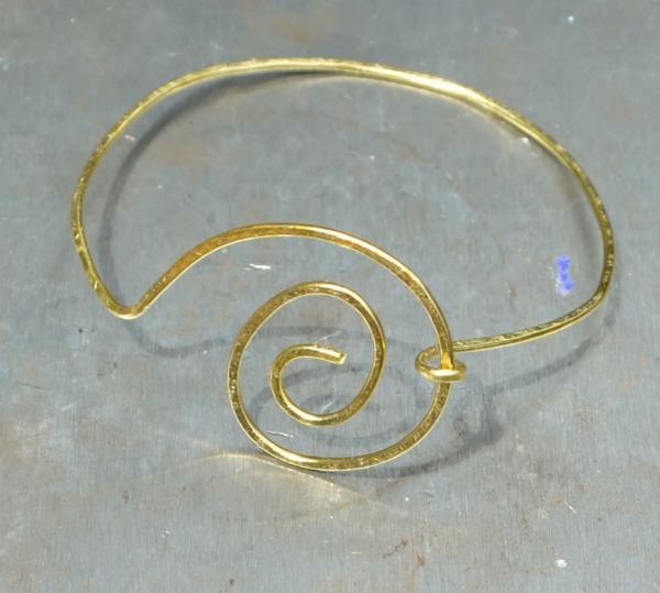 Spiral Wire Bracelet