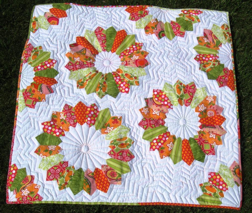Dresden quilt pattern free