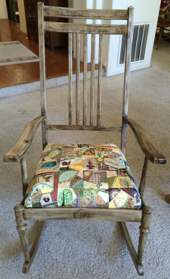 finished rocker