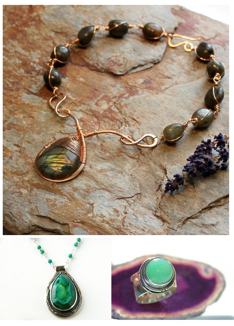 Focal - Green Stone Jewelry
